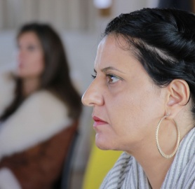 Vivien Sansour, CEO of Heirloom Seed Library, Palestine