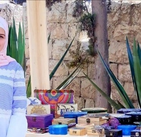 Self-Employment in Jerusalem: Noor Totah Founder of 3'altkeh