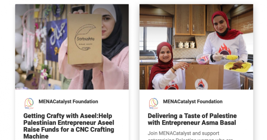 Palestine's Women Entrepreneurs Need Your Support